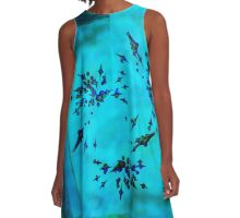 20160917 blue temptation no. 4 A-Line Dress