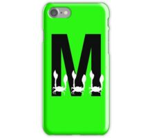 M is for Macra iPhone Case/Skin