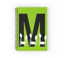 M is for Macra Spiral Notebook