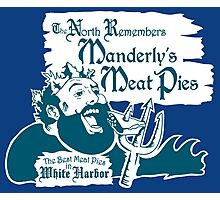 Manderly's Meat Pies Photographic Print