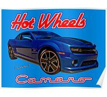 Hot Wheels Camaro Poster Poster