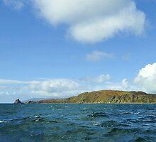 Sanda Isle Lighthouse Scotland. by youmeus