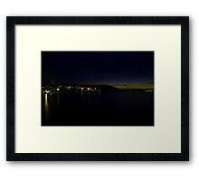 Heringsdorf at night Framed Print