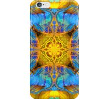 BLUE MORPH GATHERING iPhone Case/Skin