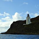 Holy Isle Outer Lighthouse Scotland. by youmeus