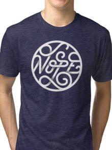 Nope - Typographic Art Tri-blend T-Shirt