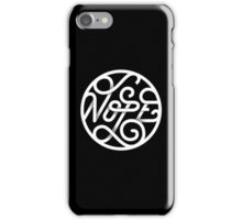 Nope - Typographic Art iPhone Case/Skin