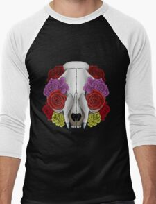 Cat Skull and Roses T-Shirt