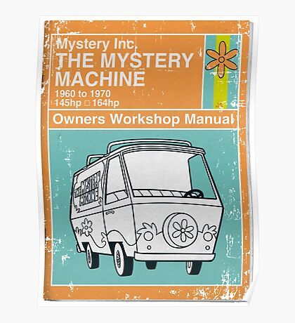 Mystery Manual Poster