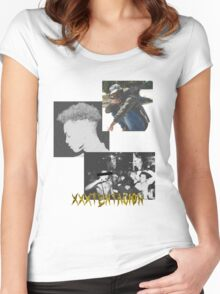 xxxtentacion #freex Women's Fitted Scoop T-Shirt