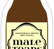 Male Tears Bitter Beer - Bottle Sticker