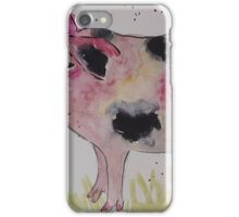 Spotty Pig and a Bumble  iPhone Case/Skin
