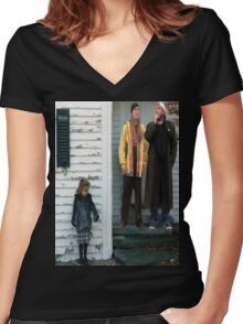 Jay and Silent Bob Are Raging Inside Me Women's Fitted V-Neck T-Shirt