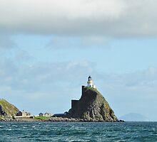 Sanda Isle Lighthouse & Ailsa Craig Scotland  by youmeus