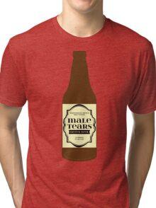 Male Tears Bitter Beer - Bottle Tri-blend T-Shirt