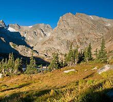 Indian Peaks by Eivor Kuchta