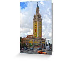 Miami: Freedom Tower Greeting Card