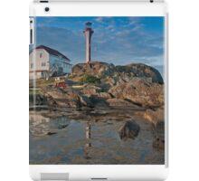 Cape Forchu Lighthouse, Yarmouth, NS iPad Case/Skin