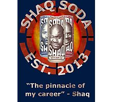 Shaq Soda Photographic Print