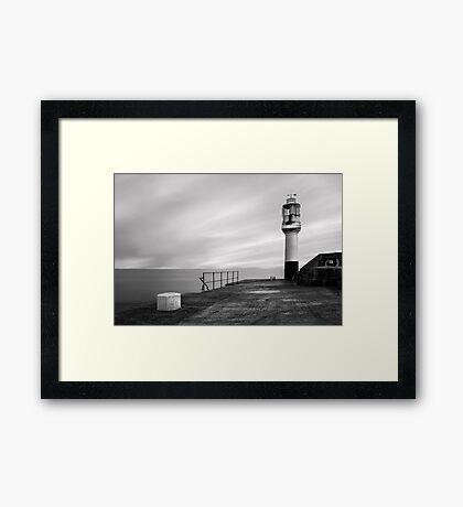 Penzance Harbour Lighthouse Framed Print