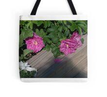 Roses along the Way Tote Bag