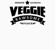 Veggie Rawsome Power Womens Fitted T-Shirt