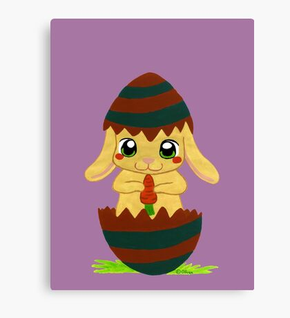 Easter Rabbit Canvas Print