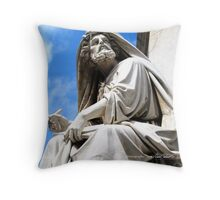 Roman Scribe Throw Pillow