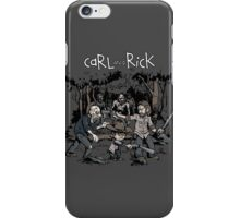 Carl and Rick iPhone Case/Skin