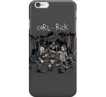 Carl and Rick iPhone Case/Skin