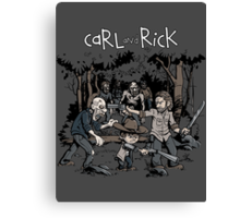 Carl and Rick Canvas Print