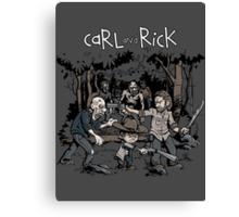 Carl and Rick Canvas Print