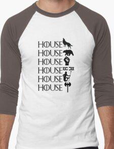 The North - Sworn to the Starks Men's Baseball ¾ T-Shirt