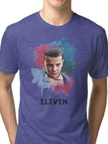 Eleven - Stranger Things - Canvas Tri-blend T-Shirt