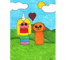 Jake and Lady Photographic Print