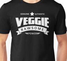 Genuine Authentic Veggie Rawsome Power Unisex T-Shirt