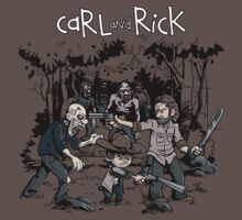 Carl and Rick by davidj8580