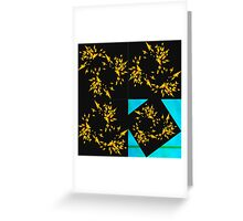 20160917 yellow on the fly no. 2 Greeting Card