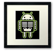 Android skeleton Framed Print