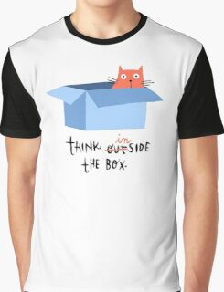 Think inside the box Graphic T-Shirt