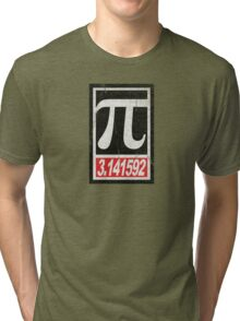 Obey Pi 3.141592 Tri-blend T-Shirt