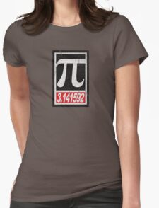 Obey Pi 3.141592 Womens Fitted T-Shirt