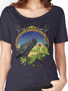 Black Crow and Figs Constellation Corvus and Hydra Women's Relaxed Fit T-Shirt