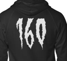 160 as for the footwork bpm you know Zipped Hoodie