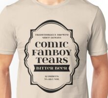 Comic Fanboy Tears Bitter Beer - Bottle Label Design Unisex T-Shirt