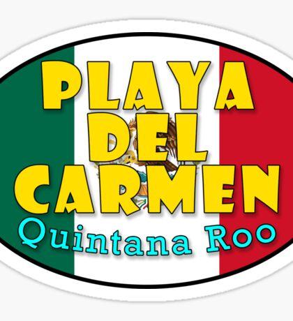 Playa del Carmen - Caribbean Paradise Sticker