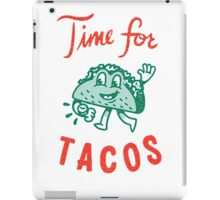 Time For Tacos iPad Case/Skin