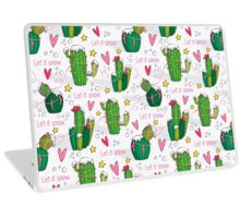 Let it Snow Cactus! Laptop Skin