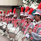 Band at Hindu Wedding by Andrew  Makowiecki