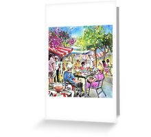 Friday Morning Market In Turre Greeting Card